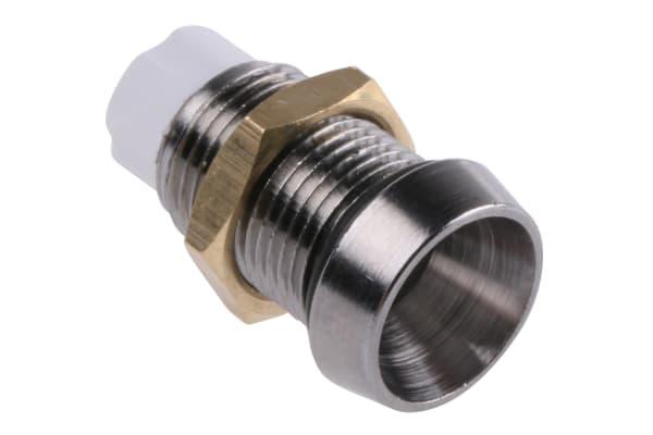Product image for PANEL MOUNT 5MM CHROME LED HOLDER IP66