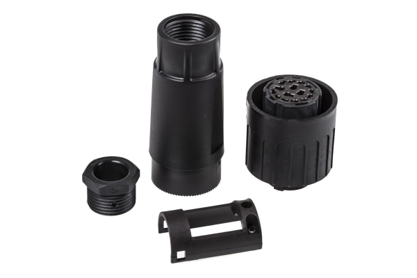 Product image for C16-3 14P+E cable socket,(18A)+11(8A)