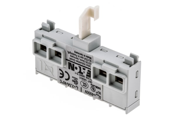 Product image for 1NO 1NC FRONT FITTING AUXILIARY CONTACT