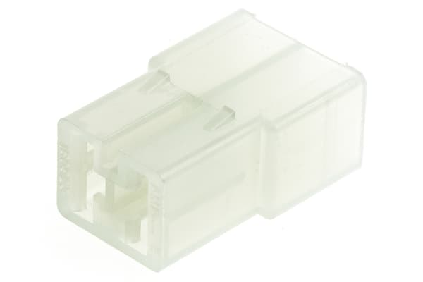 Product image for 1 way receptacle housing,0.25in