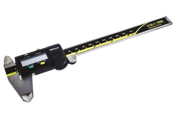 Product image for Mitutoyo 150mm Digital Caliper 0.01 mm, ,Metric & Imperial