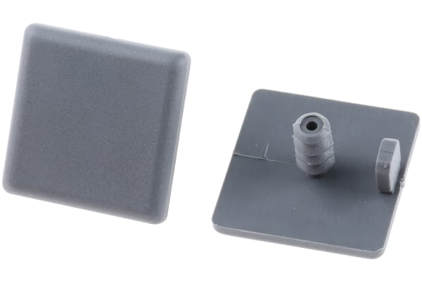Product image for END CAP FOR XD 22X22MM ALUMINIUM BEAM