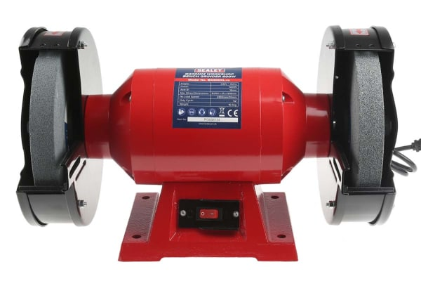 Product image for BENCH GRINDER,200MM 2/3HP 220-240VAC