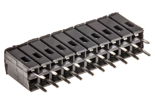 Product image for 10WAY 2 ROW TOP ENTRY SOCKET,0.1IN PITCH