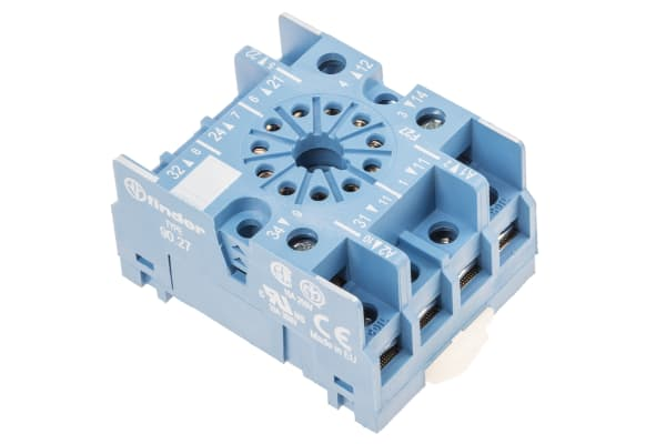 Product image for 60.13 11-pin socket with screw terminals