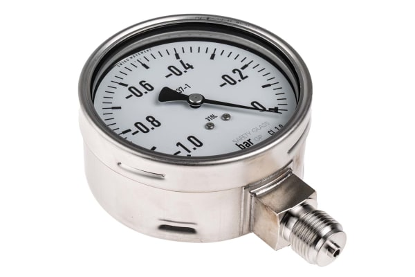 Product image for Vacuum measurement,0/-1 bar