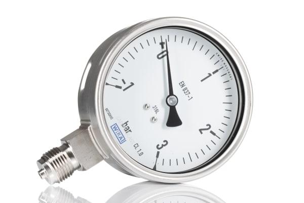 Product image for Vacuum/pressure gauge,-1/0/+3 bar