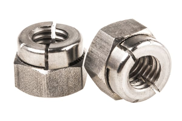 Product image for A1 S/STEEL AEROTIGHT (R) STIFF NUT,M8