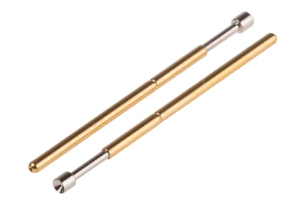 Product image for Concave 2-part spring probe,1.27mm pitch