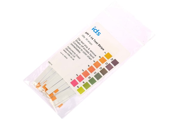 Product image for Single Parameter(s) pH pH Test Strip, max. measurement 14pH - 50 strips