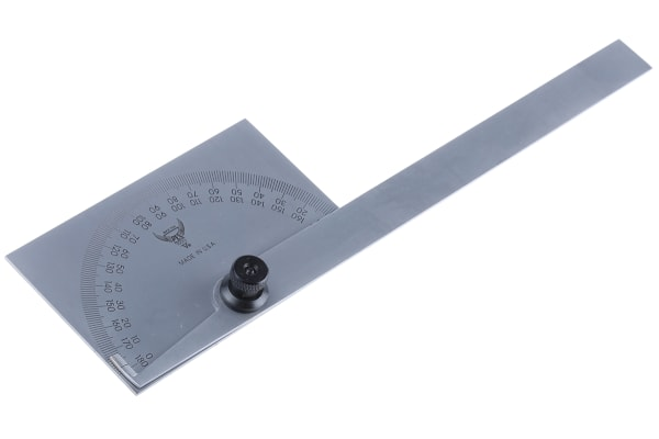 Product image for PEC-square head end protractor,0-180deg