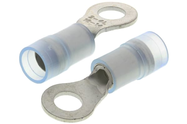 Product image for Blu M4.5 insul ring terminal,1-2.6sq.mm