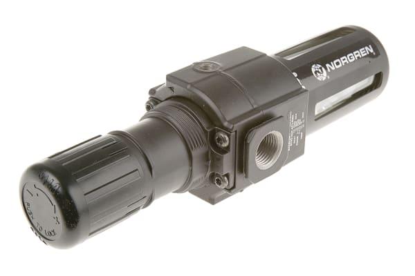 Product image for G1/2 PNEUMATIC FILTER/REGULATOR