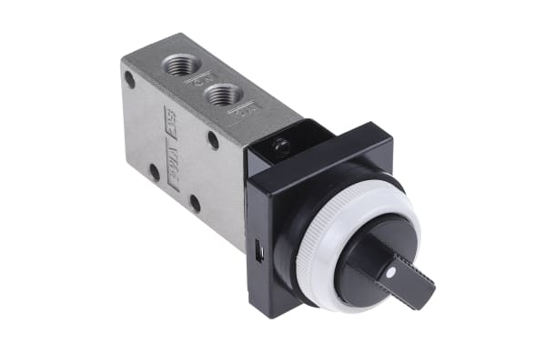 Product image for 1/8IN TWIST ACTION NC/NO MECH VALVE,BLK