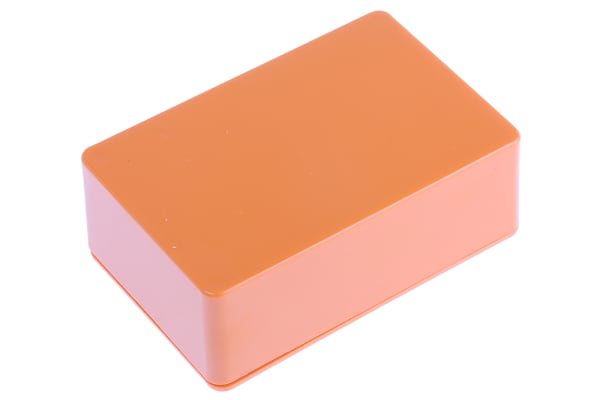 Product image for CAMDENBOSS 2000, Orange ABS Enclosure, IP54, 75 x 50 x 27mm