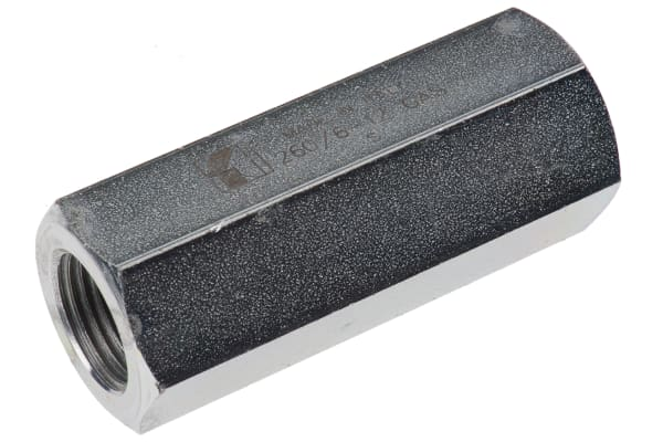 Product image for G1/2 BSP steel non-return valve