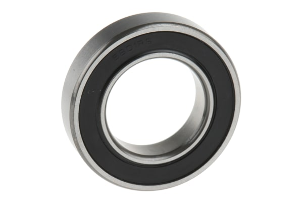 Product image for 1 row radial ball bearing,2RS1 12mm ID