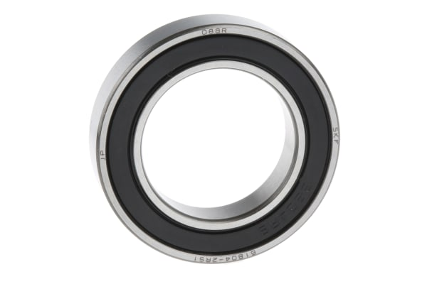 Product image for 1 ROW RADIAL BALL BEARING,2RS1 20MM ID