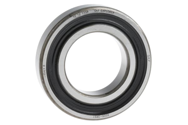 Product image for 1 ROW RADIAL BALL BEARING,2RS1 30MM ID