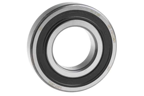 Product image for 1 row radial ball bearing,2RS1 35mm ID
