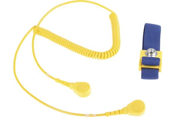 Product image for 10mm stud-stud adj fabric band/cord set