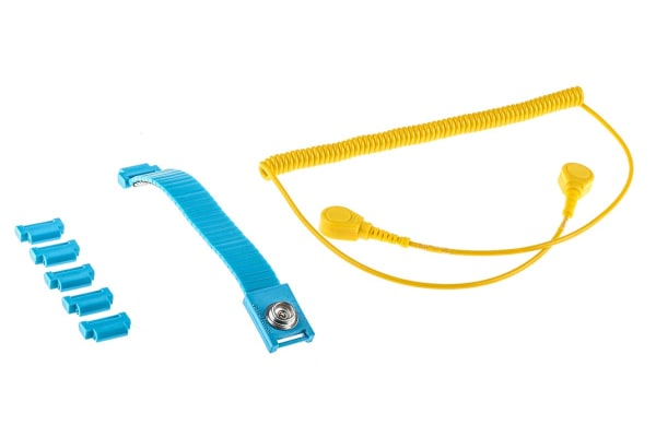 Product image for 10mm stud-stud adj wrist band/cord set
