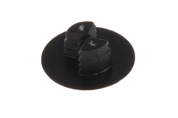Product image for Black press fit ratchet rivet,3-3.7mm T