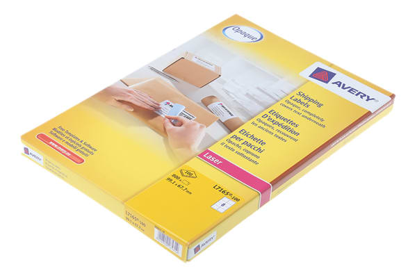 Product image for AVERY L7165 PARCEL LABEL,99.2X67.7MM