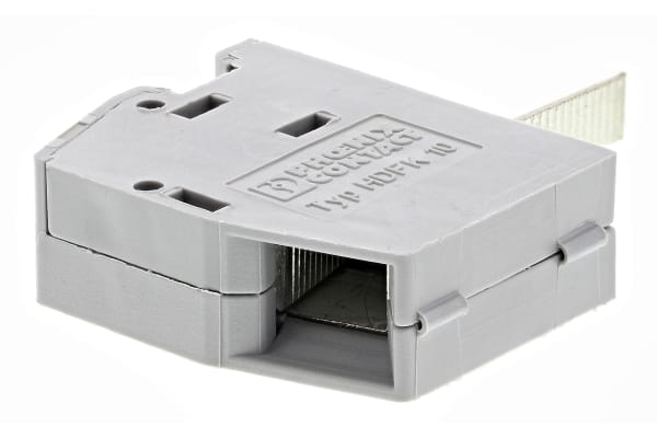 Product image for 10MM THROUGH PANEL TERMINAL BLOCK,76A