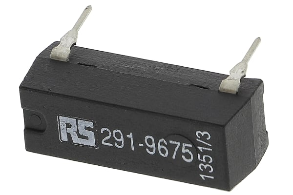 Product image for SPNO reed relay,0.5A 5Vdc coil