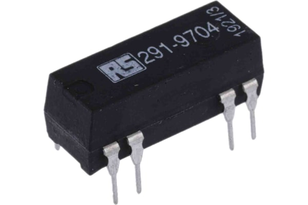 Product image for SPCO reed relay,0.25A 5Vdc coil