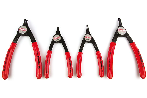 Product image for 4 piece convertible circlip pliers set
