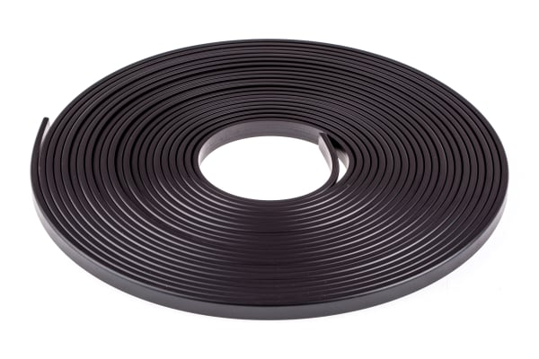 Product image for FLEXIBLE MAGNETIC STRIP,9.5MM W