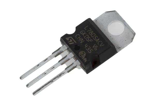 Product image for LINEAR VOLTAGE REGULATOR,L7805ACV 5V 1A