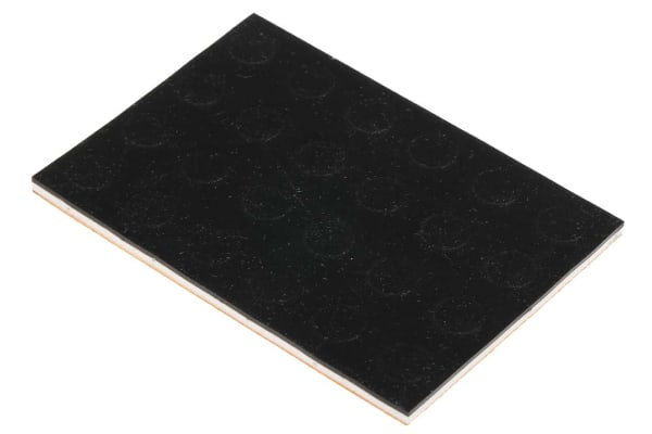 Product image for Dychem-round anti-slip pad,8mm dia/3mm H