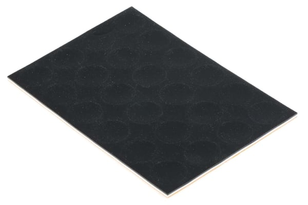 Product image for Dychem-round anti-slip pad,22mm dia/3mmH