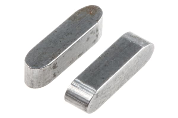 Product image for High quality steel feather key,12x3x3mm
