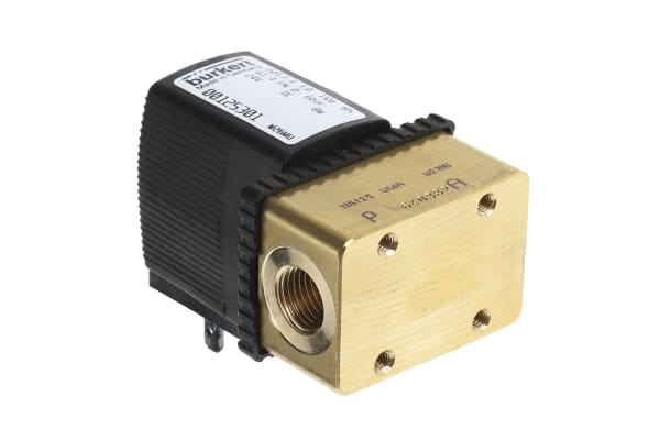 Product image for 2/2 WAY SOLENOID VALVE,G1/4 PORT 24VDC