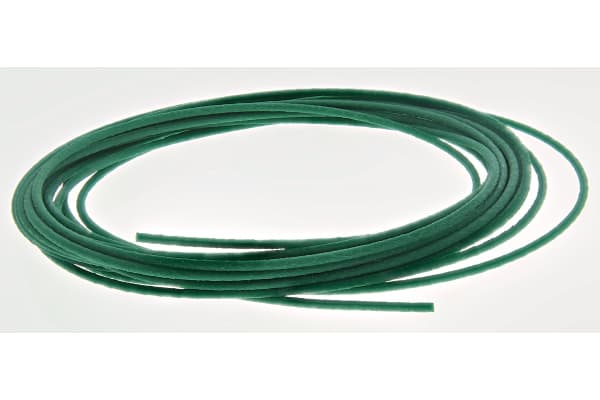 Product image for Green polyurethane belt,5m L x 2mm dia