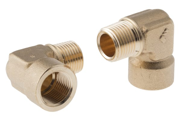 Product image for BRASS ELBOW,1/2 BSPT M X 1/2IN BSPP F