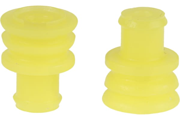 Product image for Superseal 1.5 yellow wire seal,1.8-2.4mm