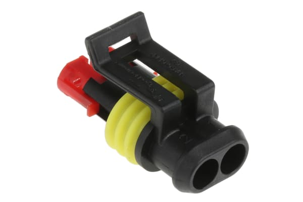Product image for Superseal 1.5 2 way plug housing