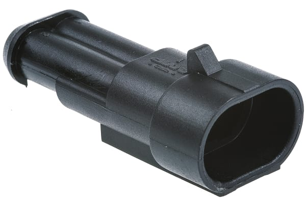 Product image for Superseal 1.5 2 way cap housing black