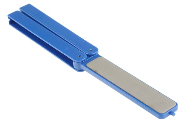 Product image for Diamond hone w/folding handle,superfine