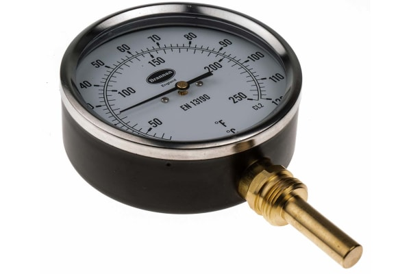 Product image for Vertical thermometer 50mm,0 to +120degC