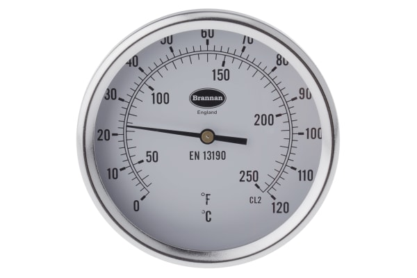 Product image for Back thermometer 100mm,0 to +120degC