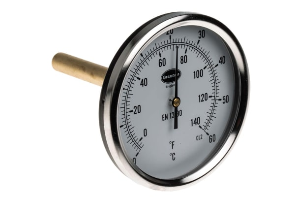 Product image for Back thermometer 100mm,-20 to +60degC