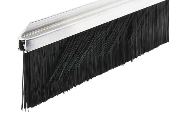 Product image for 45deg Al housed stripbrush,60Lx4Tmm