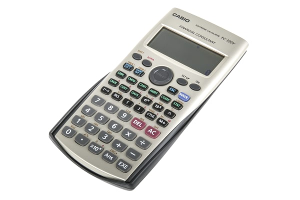 Product image for FC-100CASIO FINANCIAL CALCULATOR,10DIGIT