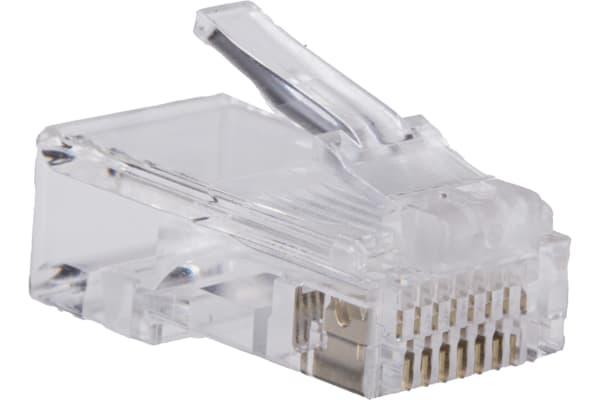 Product image for 8 way 8 contact modular data plug